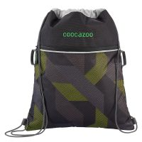 coocazoo Turnbeutel Rocket Pocket 2 polygon bricks grey