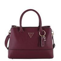 Guess Kurzgriff Tasche Cordelia Luxury Satchel burgundy