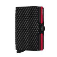 Secrid Kreditkartenetui Twinwallet cubic black-red
